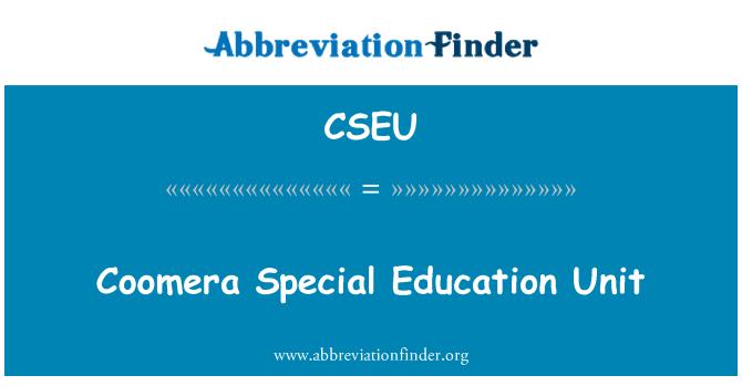 CSEU: Coomera Special Education Unit