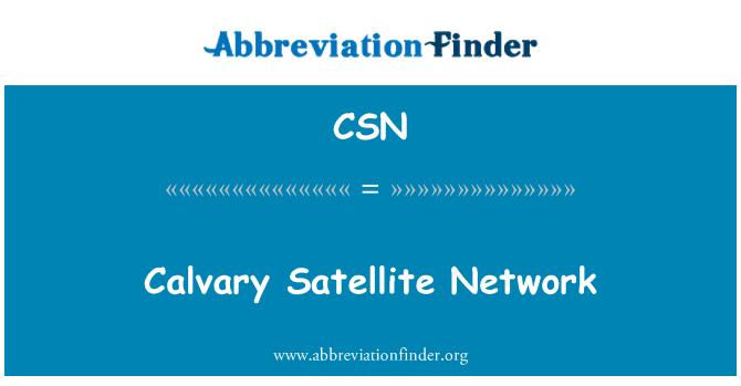 CSN: Calvary Satellite Network