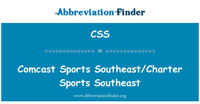 CSS: Comcast Sports Southeast/Charter Sports Southeast