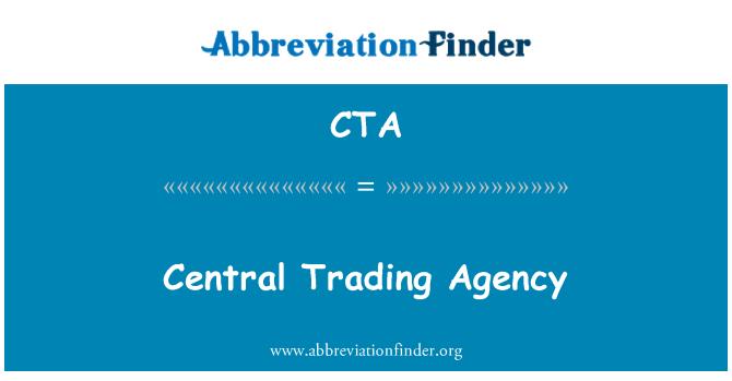 CTA: Central Trading Agency