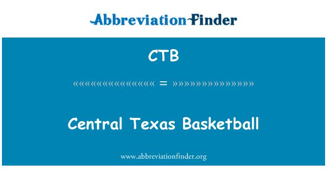 CTB: Central Texas Basketball