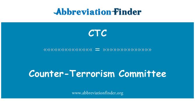 CTC: Counter-Terrorism Committee