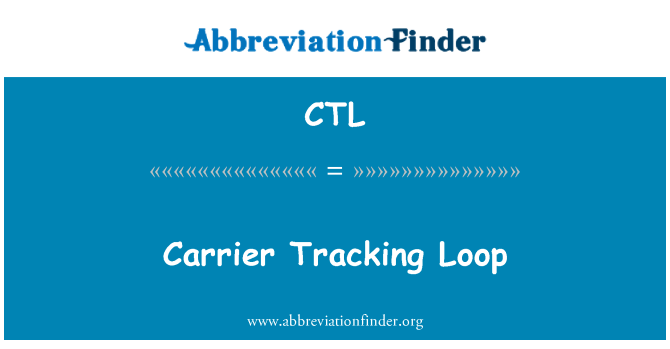 CTL: Carrier Tracking Loop
