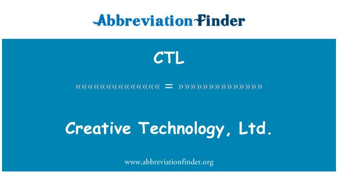 CTL: Creative Technology, Ltd.