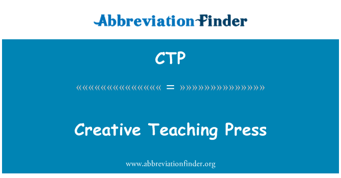 CTP: Creative Teaching Press