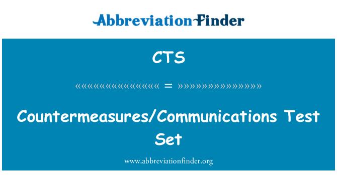 CTS: Countermeasures/Communications Test Set