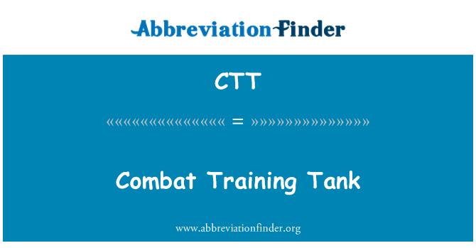 CTT: Combat Training Tank