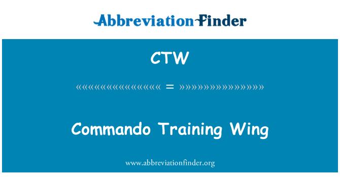 CTW: Commando Training Wing