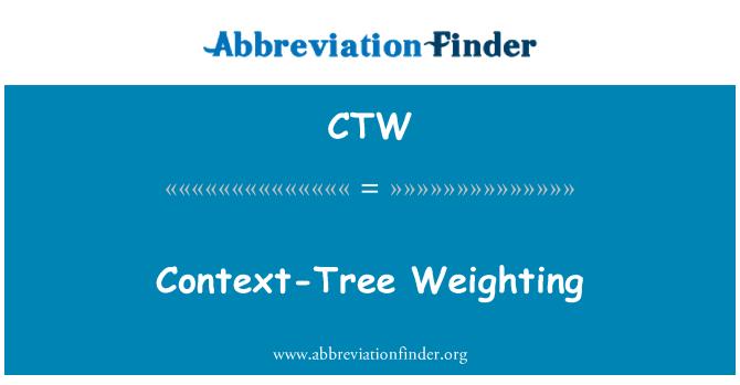 CTW: Context-Tree Weighting