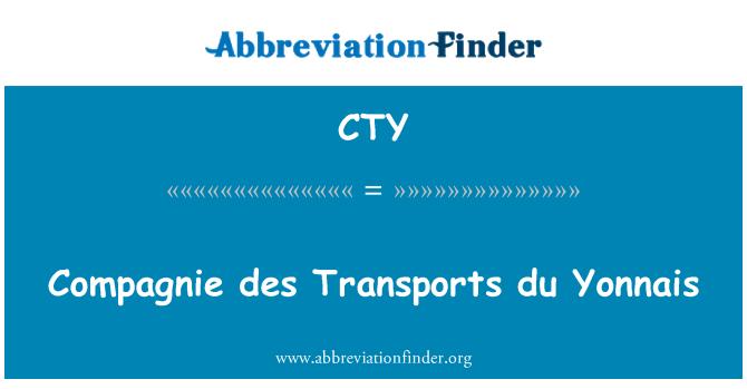 CTY: Compagnie des Transports du Yonnais