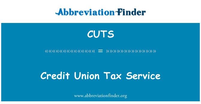 CUTS: Servicio de Tax Credit Union