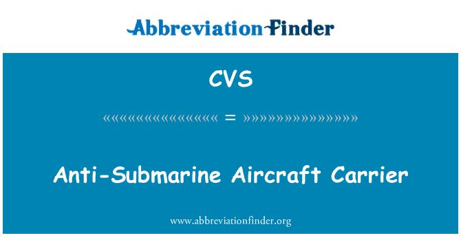 CVS: Anti-Submarine Aircraft Carrier