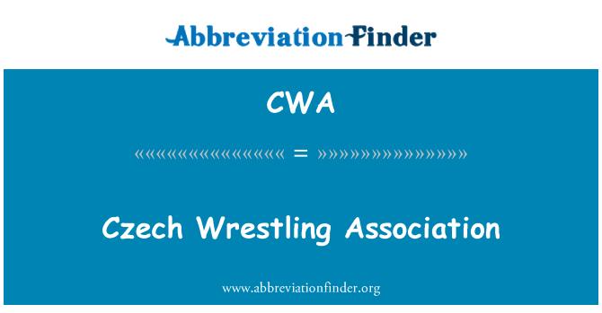 CWA: Czech Wrestling Association