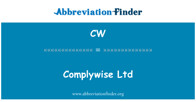 CW: Complywise Ltd
