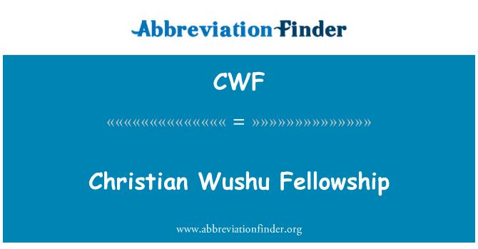 CWF: Christian Wushu Fellowship