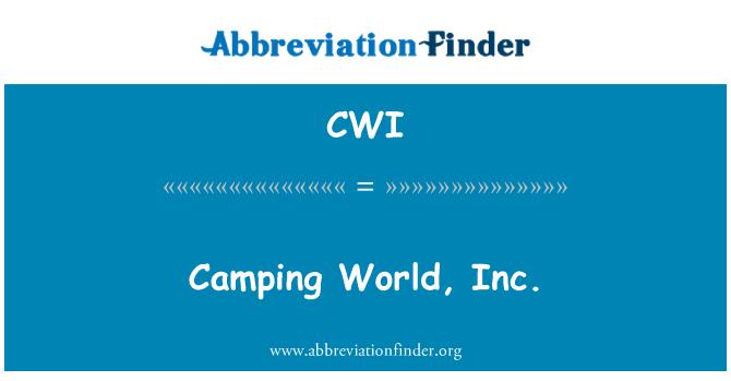 CWI: Camping World, Inc.