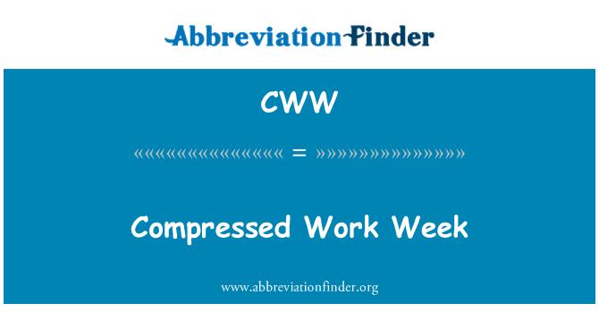 CWW: Compressed Work Week