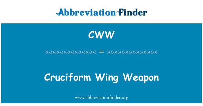 CWW: Cruciform Wing Weapon