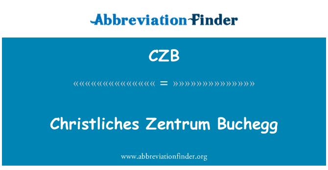 CZB: Christliches Zentrum Buchegg