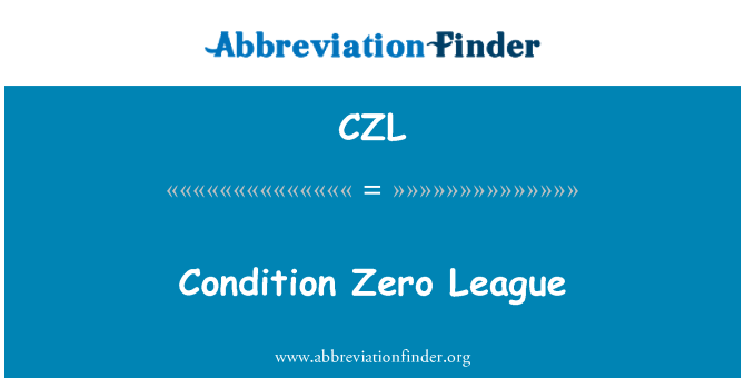 CZL: Condition Zero League