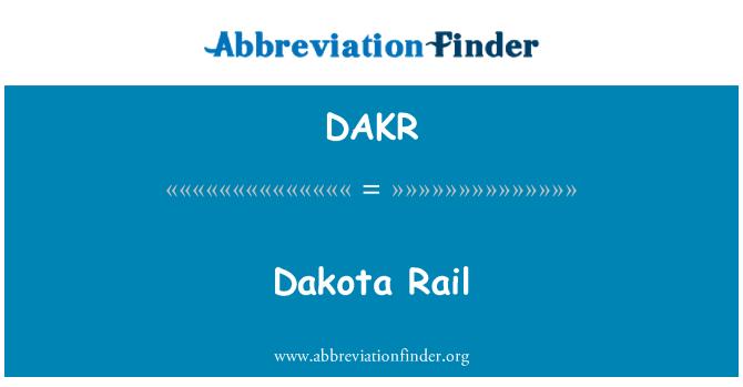 DAKR: Dakota Rail