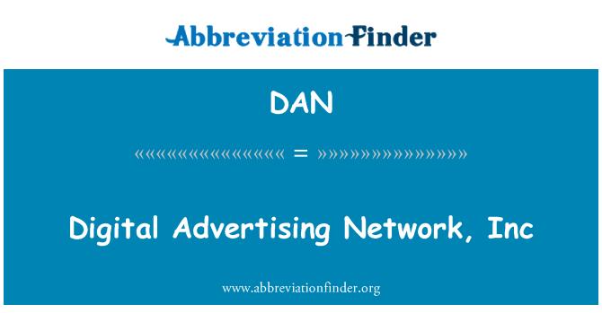 DAN: Digital Advertising Network, Inc