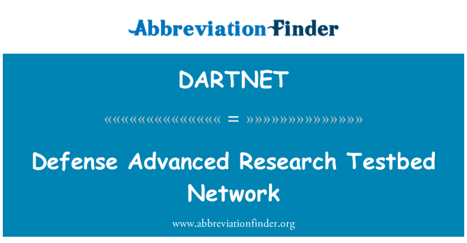 DARTNET: Defense Advanced Research Testbed Network