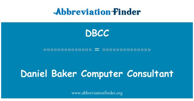 DBCC: Consultor informático Daniel Baker