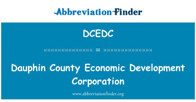 DCEDC: Dauphin County Economic Development Corporation