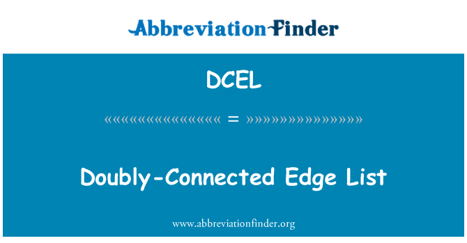 DCEL: Doubly-Connected Edge List