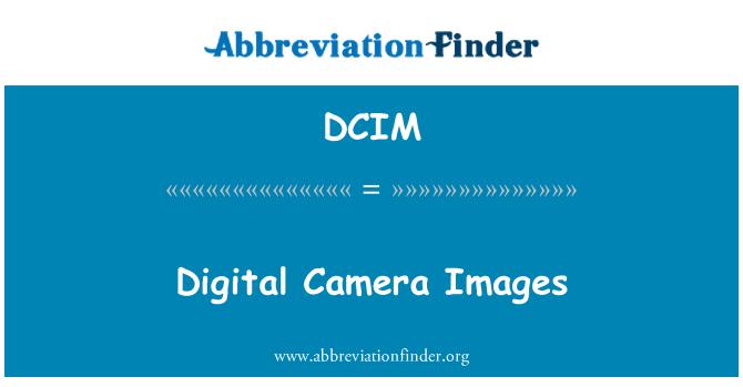DCIM: Digital Camera Images