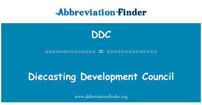 DDC: Diecasting Development Council