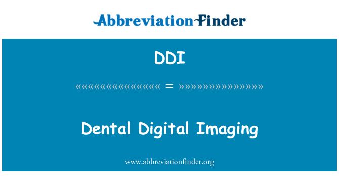 DDI: Dental Digital Imaging