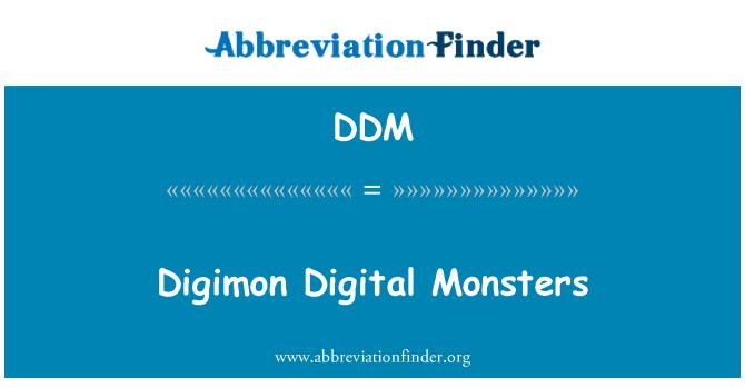 DDM: Digimon Digital Monsters