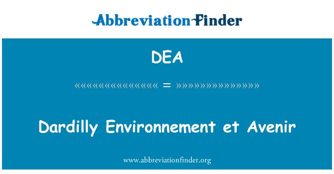 DEA: Dardilly Environnement et Avenir