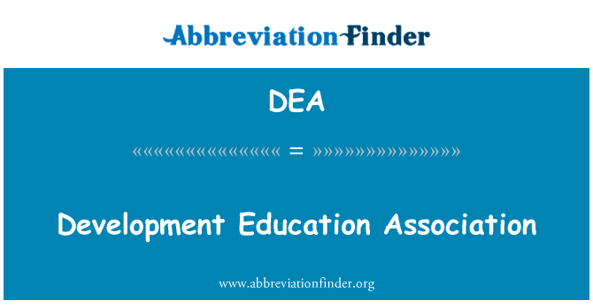 DEA: Development Education Association