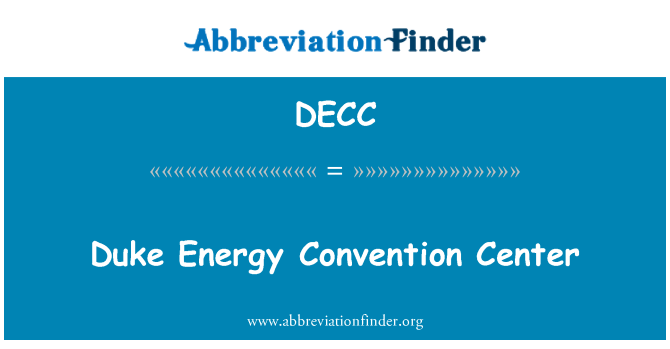 DECC: Duke Energy Convention Center