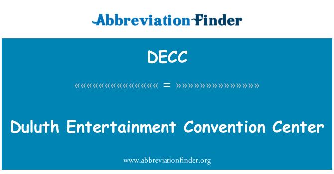 DECC: Duluth Entertainment Convention Center