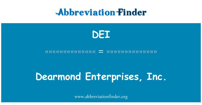 DEI: Dearmond Enterprises, Inc.