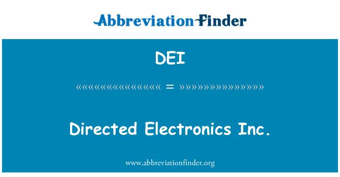 DEI: Directed Electronics Inc.
