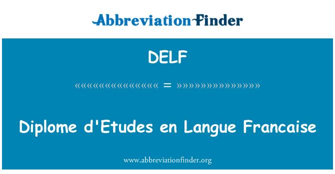 delf tan u0131m u0131  diplome d u0026 39 etudes tr langue fran u00e7aise