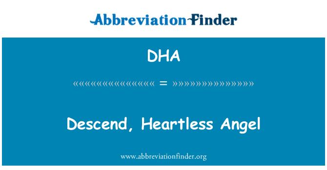 DHA: Descend, Heartless Angel