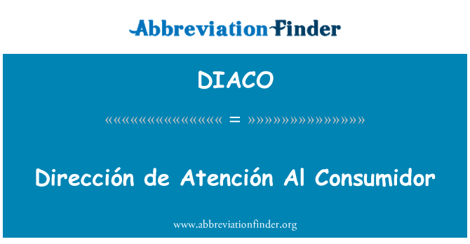 DIACO: 提高妇女地位总署 de Atención Al Consumidor