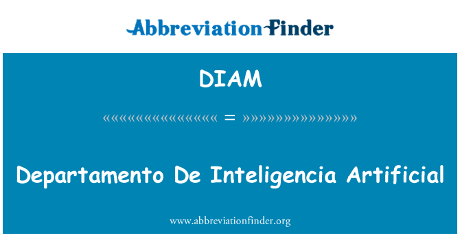 DIAM: Departamento De Inteligencia tiruan