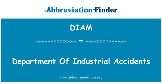 DIAM: 部门的工业意外
