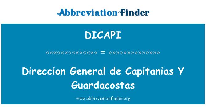 DICAPI: Direccion General de Capitanias Y Guardacostas