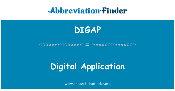 DIGAP: Digital Application