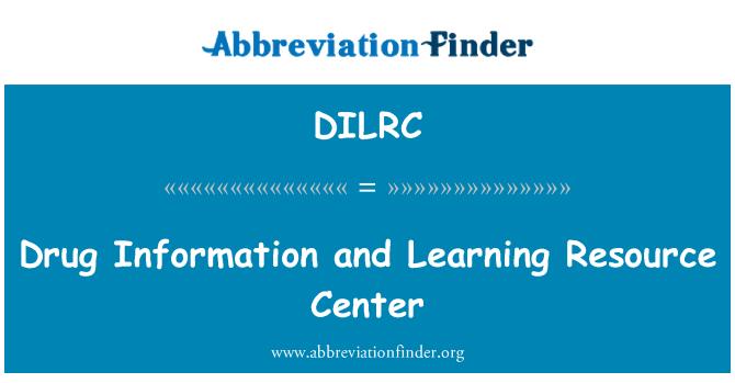 DILRC: 药物信息和学习资源中心