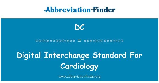 DC: Persimpangan digital Standard bagi kardiologi