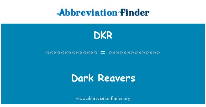 DKR: Dark Reavers